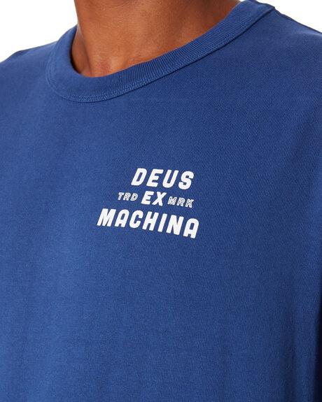 DUSTY BLUE MENS CLOTHING DEUS EX MACHINA TEES - DMA201531DSTBL