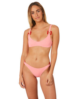 FLAMINGO WOMENS SWIMWEAR SOLID AND STRIPED BIKINI TOPS - WS-1902-1529FLM