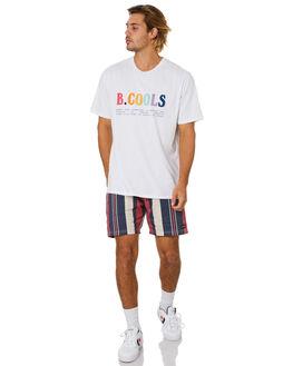 WHITE MENS CLOTHING BARNEY COOLS TEES - 102-Q120WHT