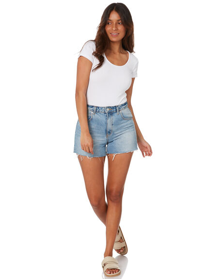 WHITE WOMENS CLOTHING SWELL FASHION TOPS - S8212006WHITE
