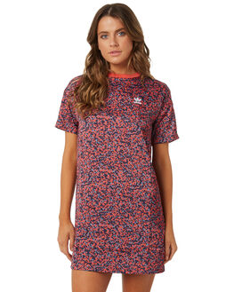 MULTI WOMENS CLOTHING ADIDAS ORIGINALS DRESSES - DH2985MULTI