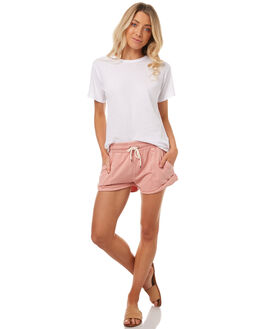 DUSTY BLUSH WOMENS CLOTHING BILLABONG SHORTS - 6571734DUST