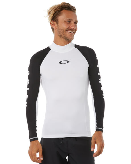 WHITE SURF RASHVESTS OAKLEY MENS - 482390AU104