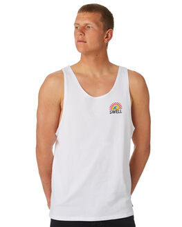 WHITE MENS CLOTHING SWELL SINGLETS - S5184277WHITE