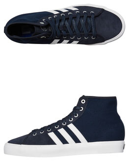 NIGHT NAVY WHITE WOMENS FOOTWEAR ADIDAS ORIGINALS HI TOPS - SSCQ1120NVYW