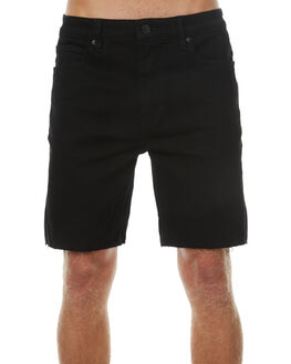 BLACK RAW MENS CLOTHING A.BRAND SHORTS - 8092321