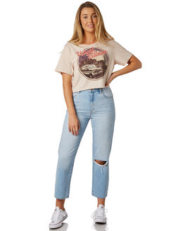 DOVE WOMENS CLOTHING THE HIDDEN WAY TEES - H8184001DOVE