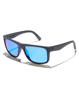 BLACK GREY BLUE MENS ACCESSORIES ELECTRIC SUNGLASSES - EE12901062BLKGB