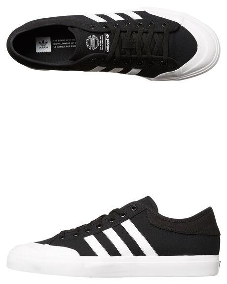 BLACK WHITE BLACK MENS FOOTWEAR ADIDAS SKATE SHOES - SSF37383BLKM