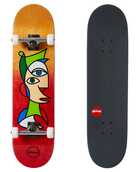 RED BOARDSPORTS SKATE ALMOST COMPLETES - 10523232RED