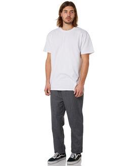 GREY STRIPE MENS CLOTHING STUSSY PANTS - ST081600GRYST