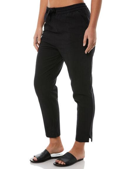 BLACK WOMENS CLOTHING RPM PANTS - 8AWBO3ABLK