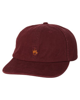 OXBLOOD MENS ACCESSORIES AFENDS HEADWEAR - 13-08-040OXBLD
