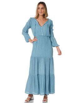 BLUE WOMENS CLOTHING MINKPINK DRESSES - MP1910462BLUE
