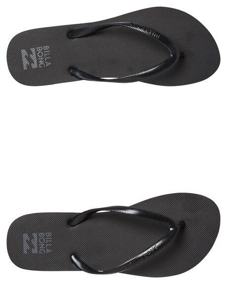 BLACK GLOSS WOMENS FOOTWEAR BILLABONG THONGS - 6671857BLKG