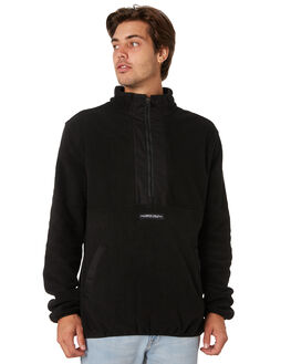 BLACK MENS CLOTHING SANTA CRUZ JUMPERS - SC-MFA9166BLK