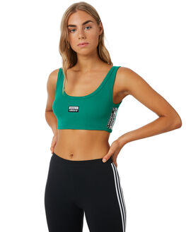 BOLD GREEN WOMENS CLOTHING ADIDAS ACTIVEWEAR - EC0776GRN