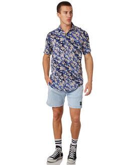 BLUE ACID MENS CLOTHING THE PEOPLE VS BOARDSHORTS - MTHBS-ABBLUAC