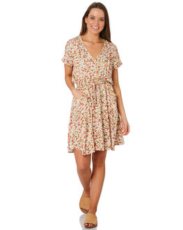 NATURAL WOMENS CLOTHING THE HIDDEN WAY DRESSES - H8201459NATRL