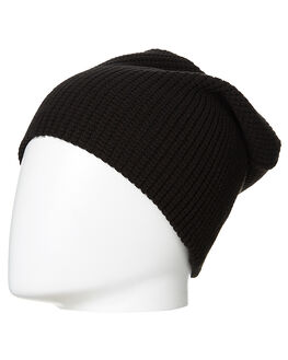 BLACK MENS ACCESSORIES COAL HEADWEAR - 7SOM12-BLK