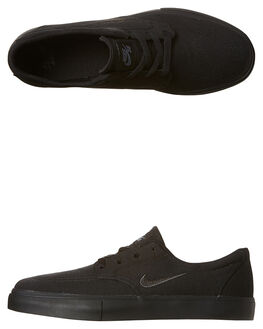 BLACK ANTHRACITE GRY MENS FOOTWEAR NIKE SNEAKERS - SS729825-005M