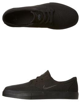 BLACK ANTHRACITE GRY MENS FOOTWEAR NIKE SNEAKERS - SS729825-005W