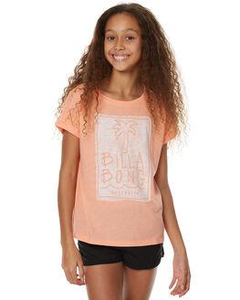 DESERT FLOWER KIDS GIRLS BILLABONG TEES - 5575001DSTFL
