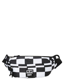 CHECKER MENS ACCESSORIES OBEY BAGS + BACKPACKS - 100010093CHK