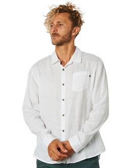 WHITE MENS CLOTHING RUSTY SHIRTS - WSM0843WHT