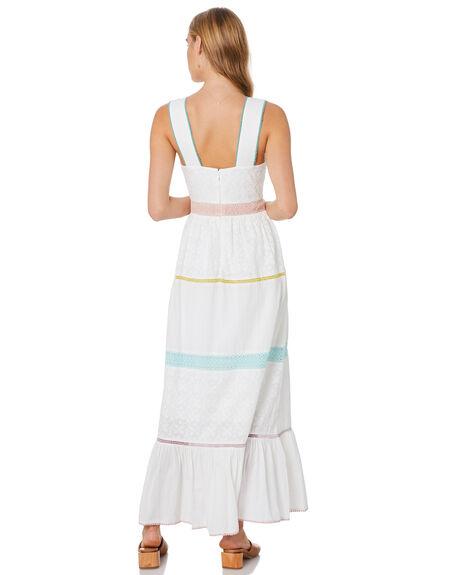 WHITE WOMENS CLOTHING TIGERLILY DRESSES - T305417WHT