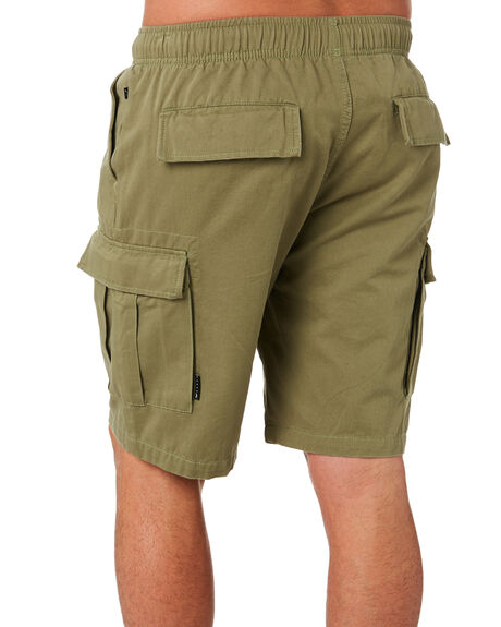 SURPLUS GREEN OUTLET MENS RUSTY SHORTS - WKM0918SUG