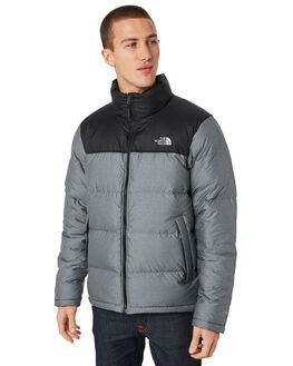 MEDIUM GREY MENS CLOTHING THE NORTH FACE JACKETS - NF0A33QCGVD