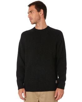 BLACK HEATHER MENS CLOTHING CARHARTT KNITS + CARDIGANS - I010977BT