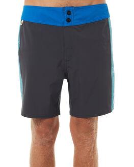 BLACK BLUE MENS CLOTHING PATAGONIA BOARDSHORTS - A7BRD005BKBL