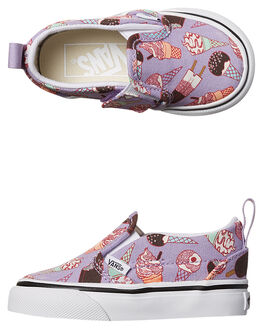 LAVENDER KIDS TODDLER GIRLS VANS FOOTWEAR - VN0A3488MN9MULTI