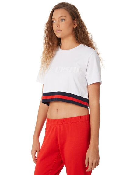 WHITE OUTLET WOMENS THE UPSIDE ACTIVEWEAR - UPL1817WHT