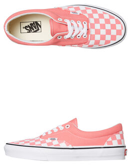 STRAWBERRY PINK WOMENS FOOTWEAR VANS SNEAKERS - SSVNA38FRVOXSPINKW