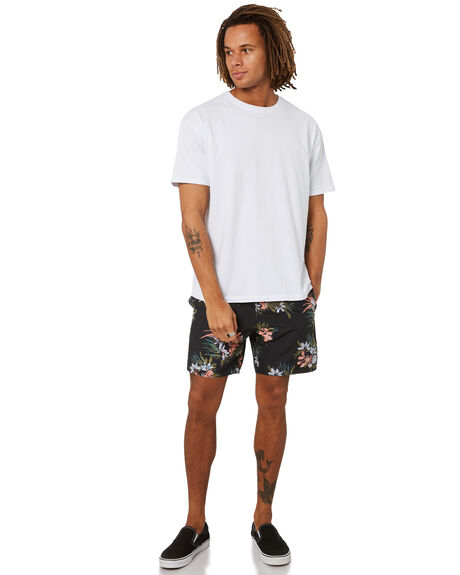 BLACK MENS CLOTHING VOLCOM BOARDSHORTS - A2512101BLK
