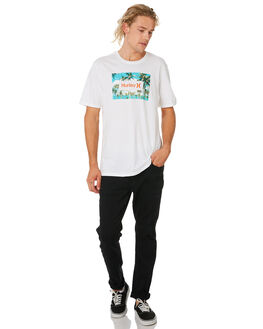 WHITE MENS CLOTHING HURLEY TEES - CI0355100