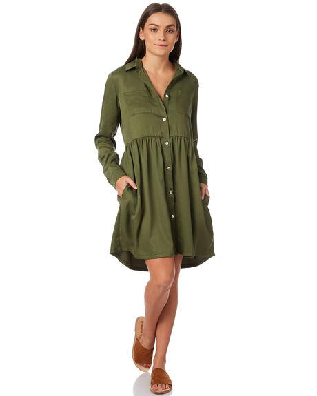 KHAKI OUTLET WOMENS SWELL DRESSES - S8183449KHAKI