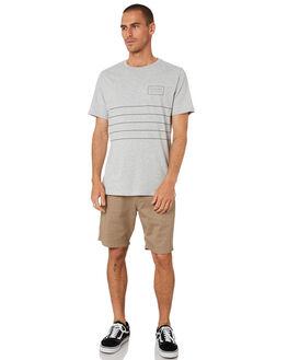 GREY MARLE MENS CLOTHING RIP CURL TEES - CTETG20085