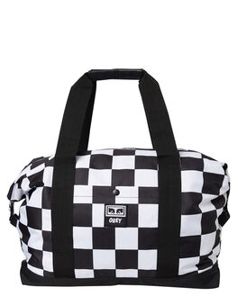 CHECKER MENS ACCESSORIES OBEY BAGS + BACKPACKS - 100010092CHK