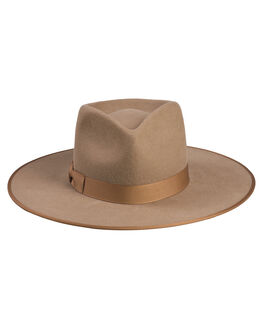 SAND WOMENS ACCESSORIES LACK OF COLOR HEADWEAR - TKRANCH1SND