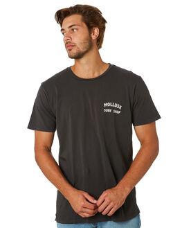 FADED BLACK MENS CLOTHING MOLLUSK TEES - MS1228FBLK