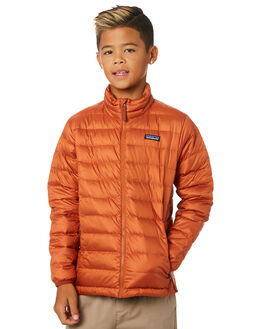 COPPER ORE KIDS BOYS PATAGONIA JUMPERS + JACKETS - 68245-CPOR