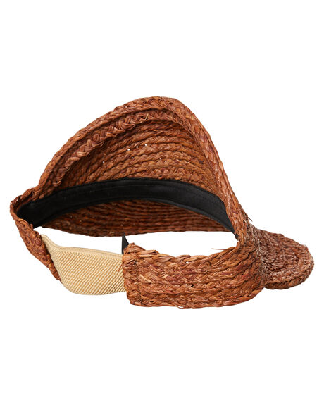 BROWN WOMENS ACCESSORIES BRIXTON HEADWEAR - 00860BROWN