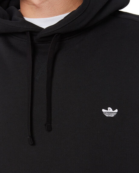 BLACK WHITE MENS CLOTHING ADIDAS JUMPERS - GN5622BKW