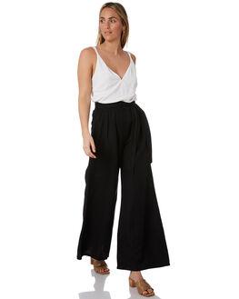 BLACK WOMENS CLOTHING TIGERLILY PANTS - T305386BLK