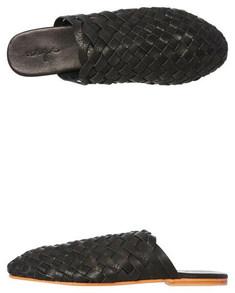 BLACK WOMENS FOOTWEAR URGE FLATS - URG17170BLK