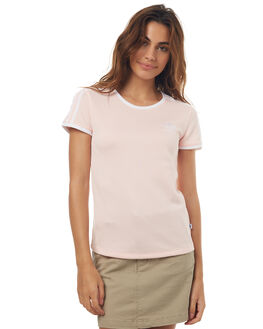 ICEY PINK WOMENS CLOTHING ADIDAS ORIGINALS TEES - BP9439IPNK
